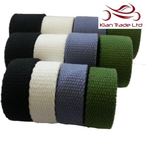 3.5MM d/'épaisseur forte toile coton bande sangle ceinture tissu yoga sangle sac diy WW2
