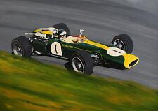 """Jim Clark Lotus 43 BRM     A2   24""""x18""""   Print"""
