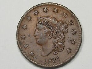 1831-US-Coronet-Head-Large-Cent-Coin-Large-Letters-26