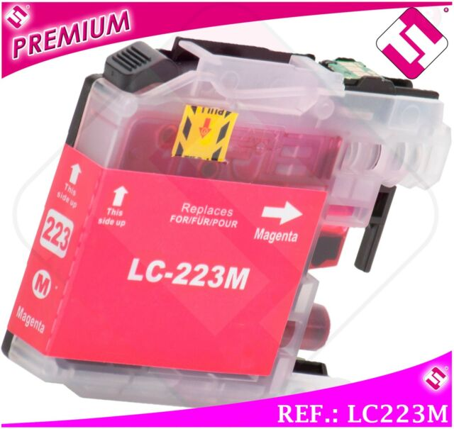 Ink LC221 LC223M Magenta XL Compatible Printer Cartridge Pink Nonoembrother