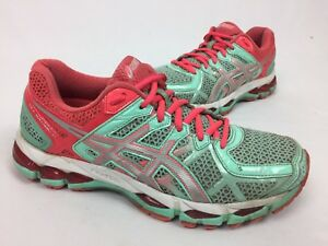 Details about Women's Asics Gel Kayano 21 Mint Green Running Shoes Sneakers US 9 EUR 40.5