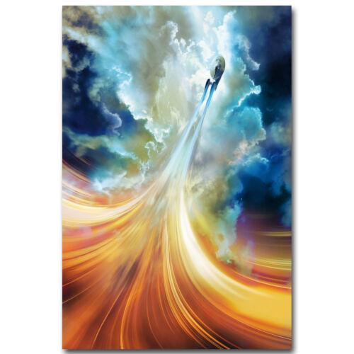 Star Trek Beyond 2016 New Movie Silk Poster 13x20 32x48inch U.S.S Enterprise 04