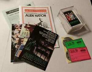 ALIEN NATION The Series Lot 60 FTCC Trading Cards Booklets Postcards Membership