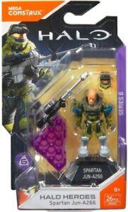 Mega-Bloks-Halo-Mega-Construx-Heroes-Series-6-Spartan-Jun-A266-Mini-Figure