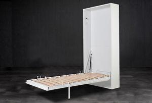 LETTO SINGOLO - MOBILE A SCOMPARSA VERTICALE | eBay