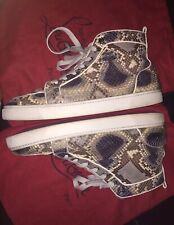 a395b80b63b Christian Louboutin Rantus Orlato Flat Python Sneaker Sz 47 for sale ...