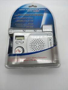 Springfield NOAA Emergency Weather Alert Radio & LED Flashlight New