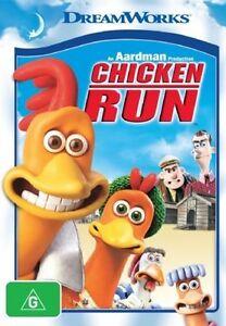 Chicken Run (DVD, 2002)-FREE POSTAGE very good condition