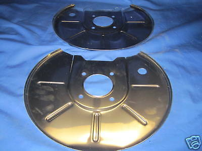NEW PAIR  MGB BRAKE DISCS /& STAINLESS STEEL BACK PLATES   ***J1B