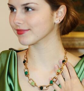 Rolling in the Green Necklace