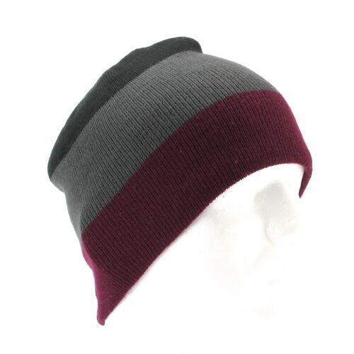 Van Heusen Color Block Beanie for Men Winter Hat One Size