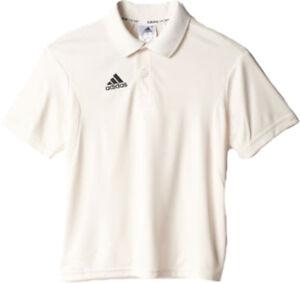 Adidas Short Sleeve Cricket Shirt Whites