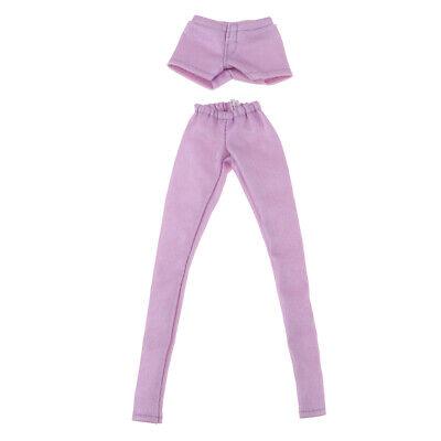 1//6 Dolls Clothes Leggings Pants Dress Up for Blythe BJD SD DOD LUTS Doll Black