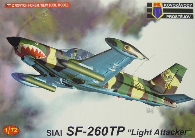 "Siai SF-260TP"" Light Atacante "", KP, 1:72 , Plástico, Nuevo"