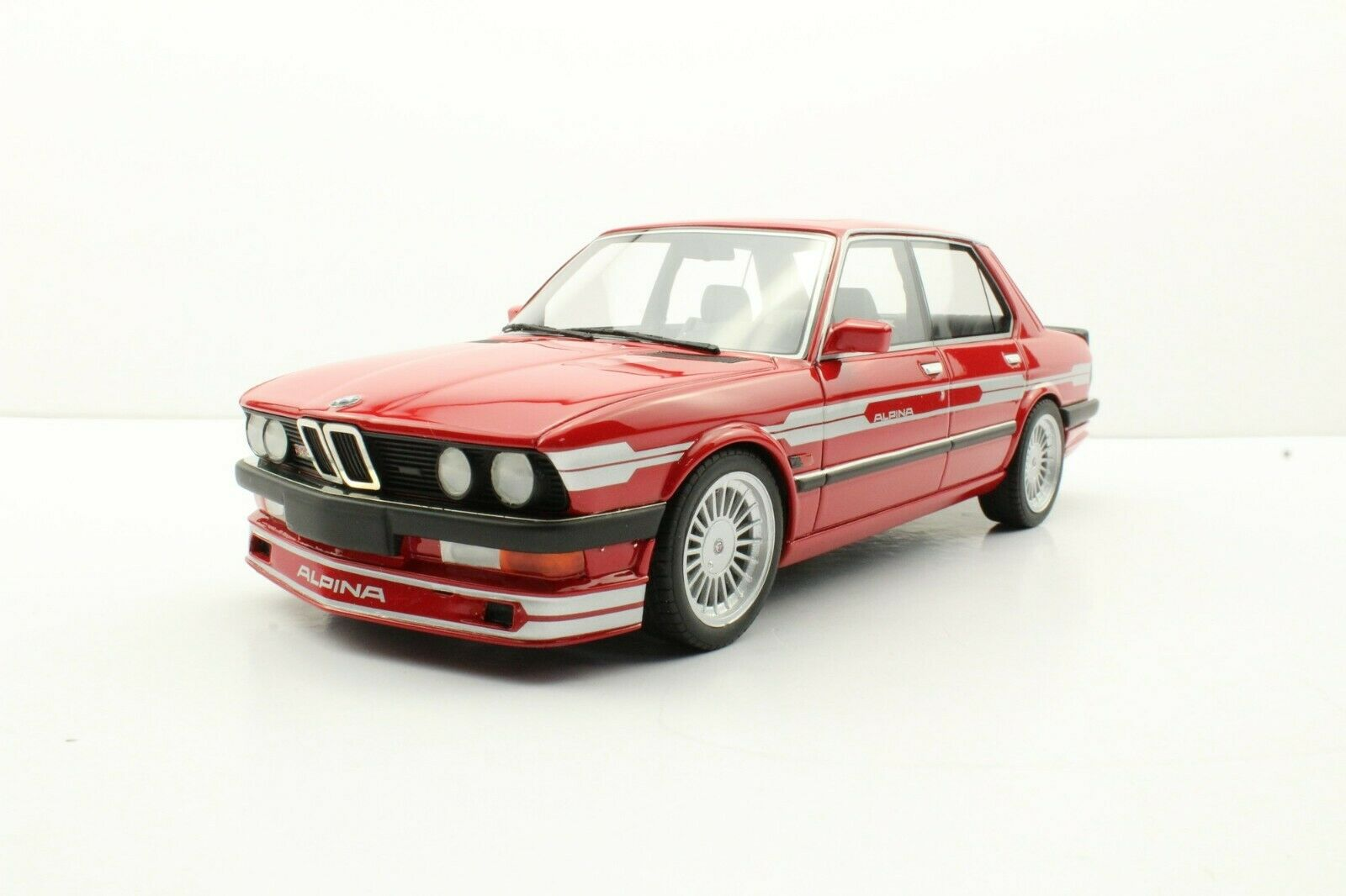 LS Collectibles 1988 BMW ALPINA B10 3.5 Red LE of 250 1 18 Scale New Release
