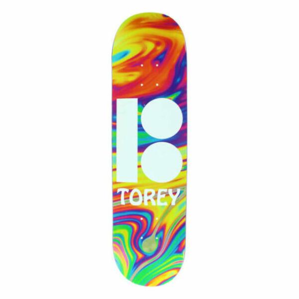 "Plan B Skateboard Torey Pudwill Wavy 8.125"" With ..."