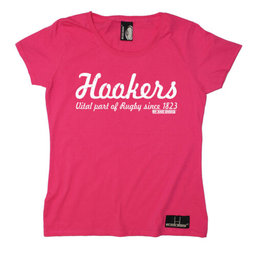 Hookers Part Of Rugby Since 1823 WOMENS T-SHIRT Rugby Beer Funny birthday gift