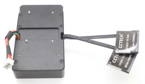 "grande URSA 4K 4.6K Express CFast a 2.5/"" Sata 3 4T SSD placa de alimentación V-Mount Full"