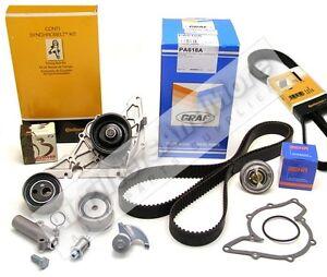 audi 2 7l v6 turbo timing belt water pump kit a6 quattro allroad quattro s4 ebay Timing Belt Installation Timing Belt Change