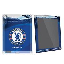 Chelsea FC iPad 2 / 3 & 4G Pelle Tablet Case Cover blu stadio tifoso di calcio