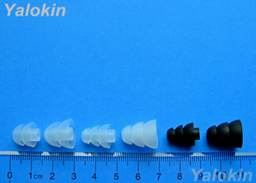 Comfort Fit Kit Replacement Eartips Gels for Sennheiser In Ear CX 3.00 CX 5.00