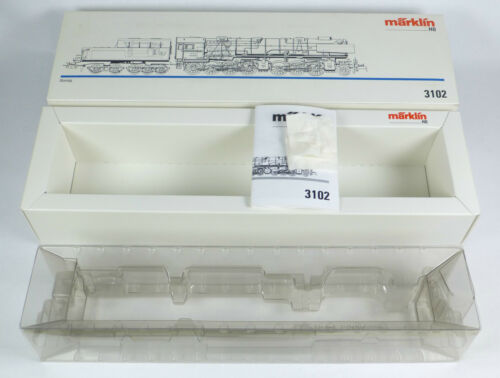 1 von 1 - Märklin LEERKARTON 3102 Dampflok BR 53 0001 DRG Borsig Mallet OVP 3302 3502 3602