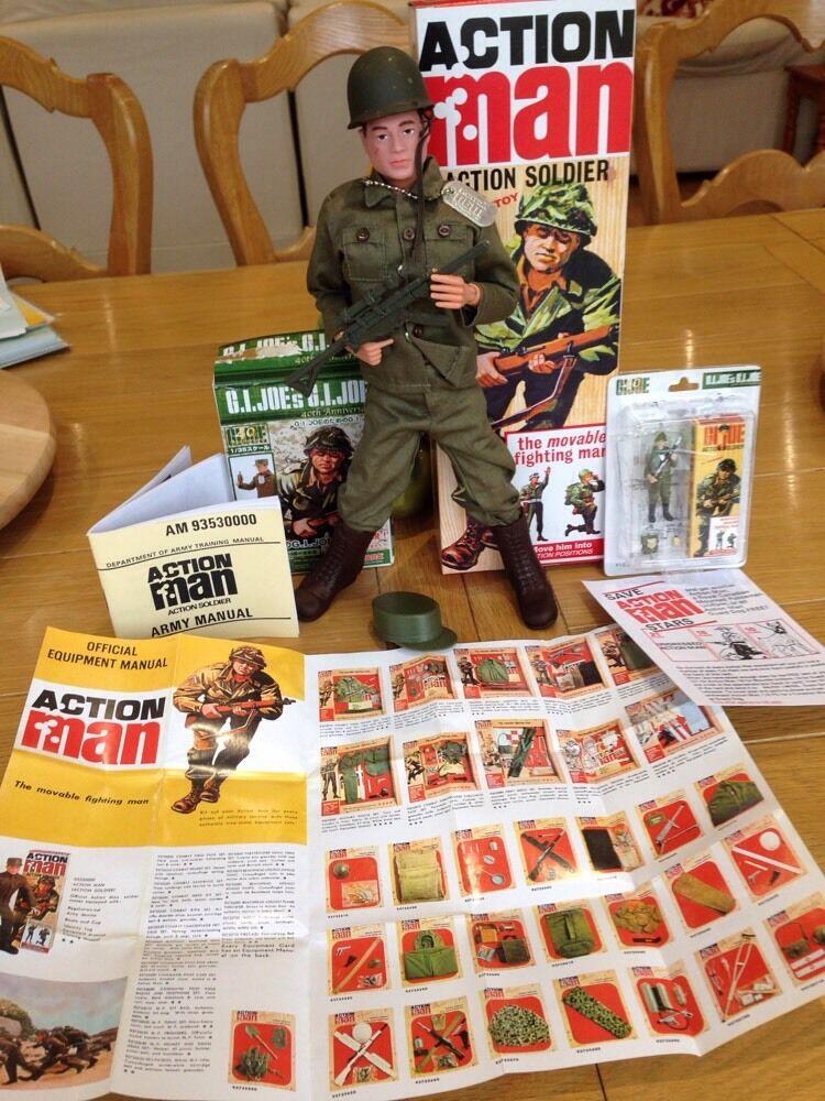Action Man & GI Joe Miniature Boxed