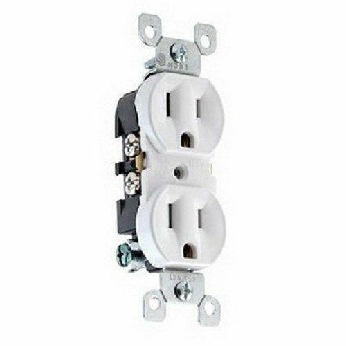 Leviton 5320 Wcp Duplex Outlet Receptacle With Quickwire White Ebay