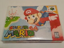Super Mario 64 High Quality Custom Collector N64 Case Only