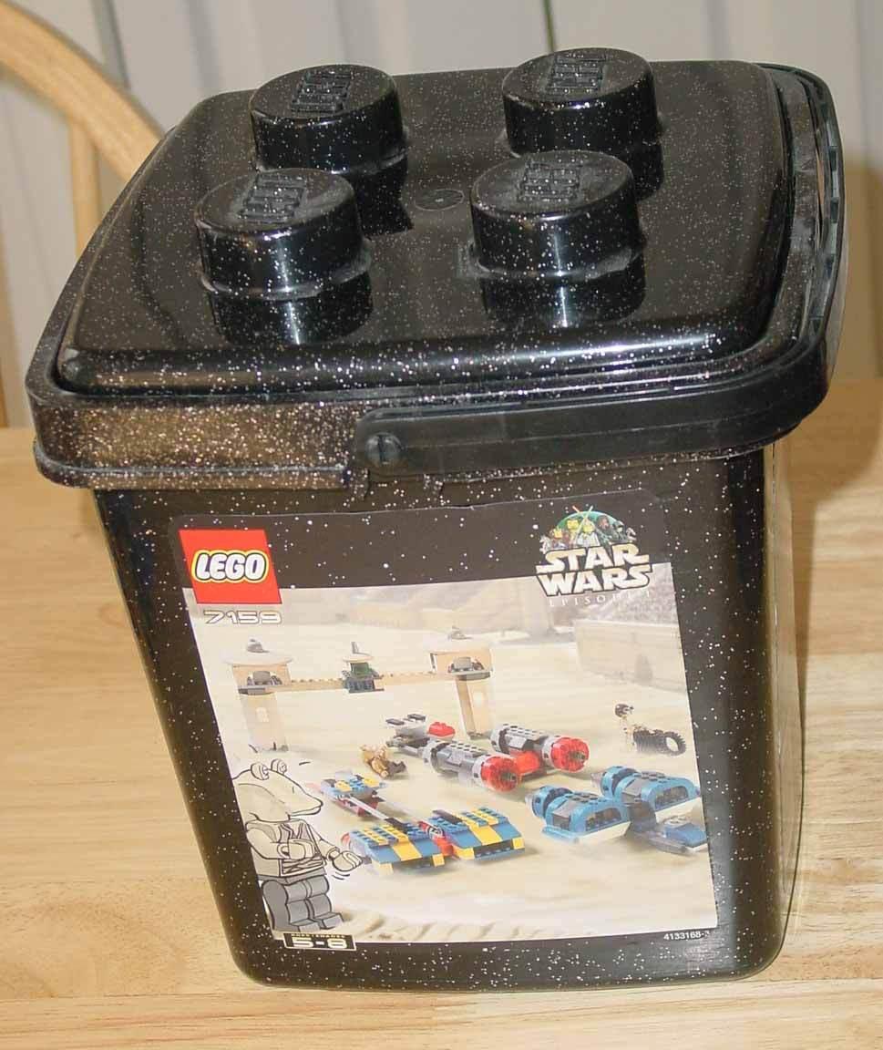 Lego Star Wars 7159 Podracing conjunto en un cubo-Completo