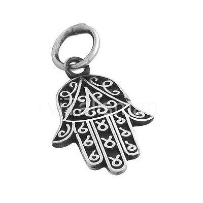 Unparteiisch Hand Der Fatima,amulett,schutzamulett,talisman,glücksbringer 925 Silber As38g Hohe QualitäT Und Preiswert