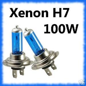 XENON 100W H4 Halogen Headlight Bulbs X2 FORD FOCUS