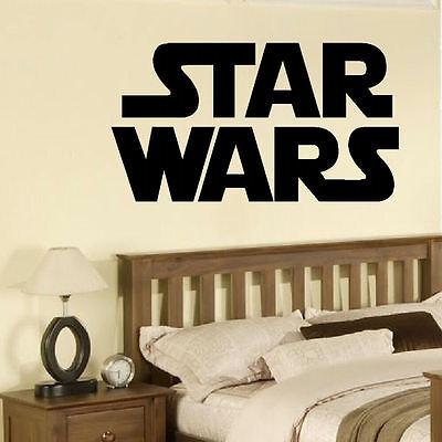 LARGE STAR WARS STORM TROOPER BIG CHILDRENS BEDROOM WALL MURAL STICKER TRANSFER