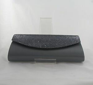 Pochette da 7 Wedding Wedding abk6 grigia Party 17 donna Prom 6 SAUaWrqwS