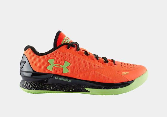 7fa82ccaab3c New UA Under Armour Steph Curry One BOLT ORANGE size 9 Low MVP Limited