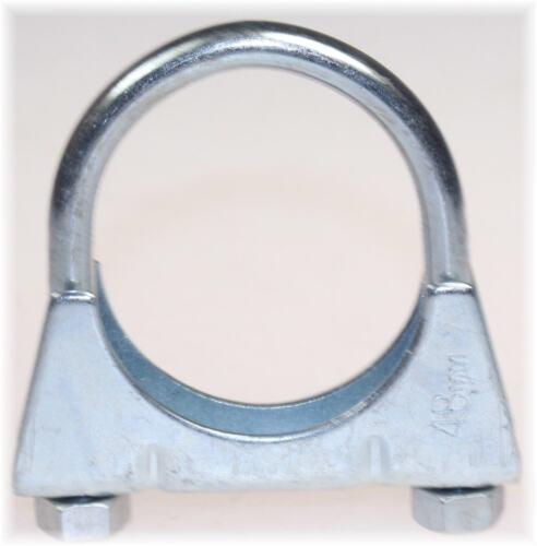 1St Auspuffschelle Rohr-Bügel Schelle U-Bolt Clamp M8 x 48 mm Ref 3270-4835 TOP