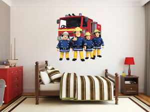 Pompiere-Sam-x-Large-Gigante-Adesivo-Parete-in-Vinile-Decalcomanie-Bambini-Boy-Girl-49