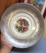 "Vintage Wrought Farberware Aluminum Bowl Triumph Limoges Bottom 13.75"" w/ Hanger"