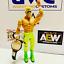 Cinturon-de-oro-grande-de-cuero-real-WCW-para-Hasbro-Mattel-Jakks-figuras-WWE-WWF miniatura 2