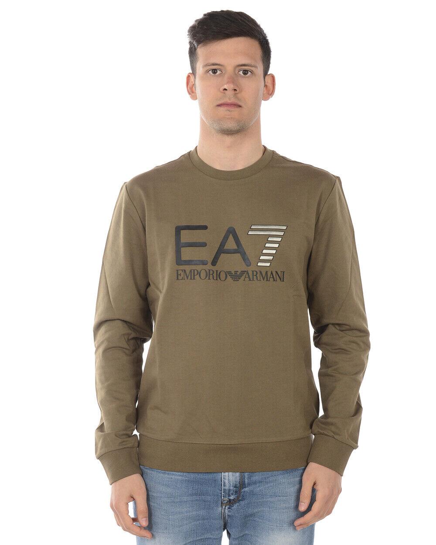 Emporio Armani Ea7 Sweatshirt Hoodie Man grau 3GPM1 3PJ05Z 1851 Sz M MAKE OFFER