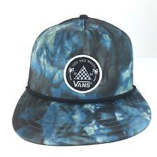 cad0658fb VANS off The Wall Men's Allover It Snapback Hat Cap - Blue/tie Dye ...