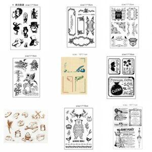 Rubber-Stamp-SiliconeTemplate-Card-Album-Decor-Fashion-Hand-DIY-Scrapbooking