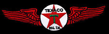 Texaco Patch with wings flying gasoline service station classic car motor oil