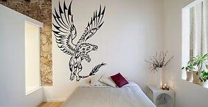Wall Room Decor Art Vinyl Sticker Mural Decal Tribal Griffin Mythology FI596