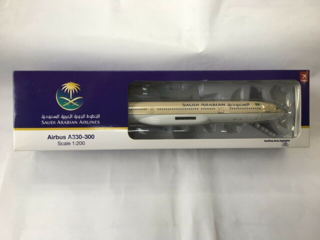 1:200 Saudi Arabian Airlines-airbus a330-300 Hogan Wings 0892 nuevo a330