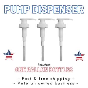 1 Gallon Pump Dispenser 38//400 Fit Standard 128oz Gallon USA Seller NEW