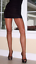 Details about  /FREE 2nd Pair ATMOSPHERE Luxury GLOSS Lace Hold ups Natural size SMALL