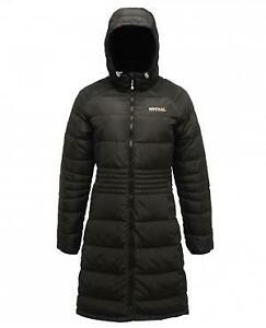 Regatta Carmella Long Down Jacket Women's Blend - Black - UK 10