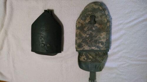 USGI Ames E-Tool Folding Shovel Entrenching Tool Tri-Fold Military with Carrier