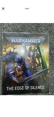 Warhammer 40K Indomitus Edge Of Silence Rules Book in hand NOW